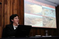Oralia Oropeza Orozco, investigadora del IGg.
